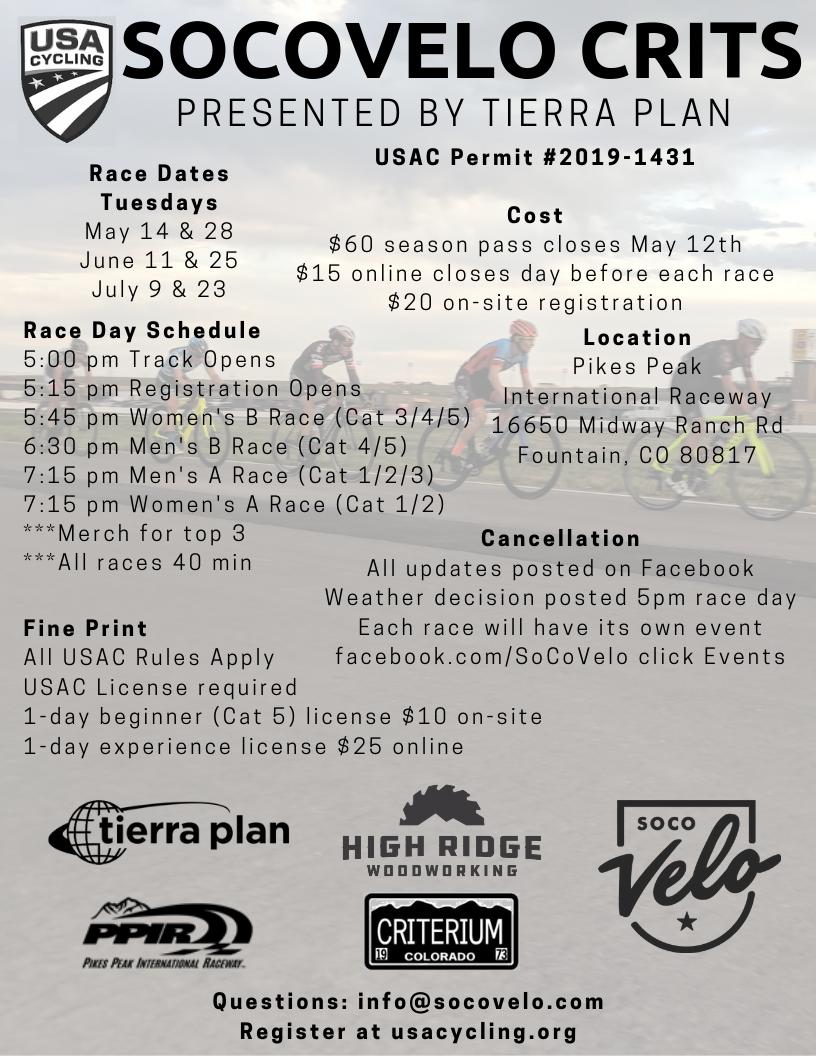Southern Colorado Velo - Crit Series